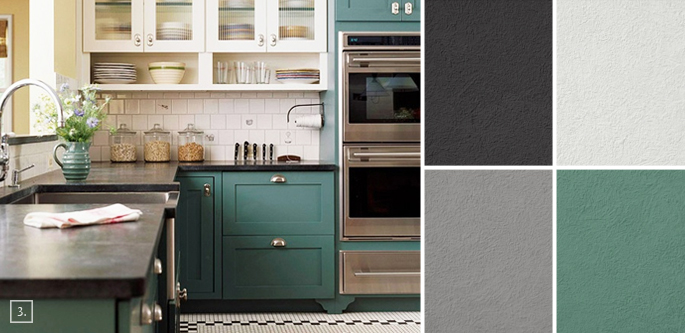 palette guide for kitchen color schemes decor and paint ideas