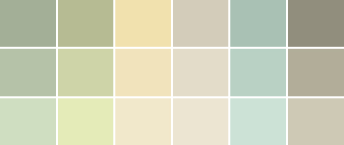 A palette guide to basement paint colors home tree atlas for Paint color palette