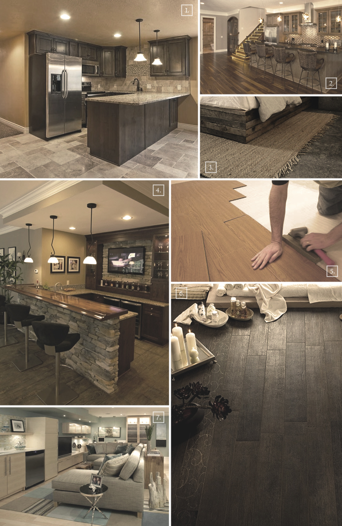 Flooring ideas for a basement home tree atlas Basement flooring ideas