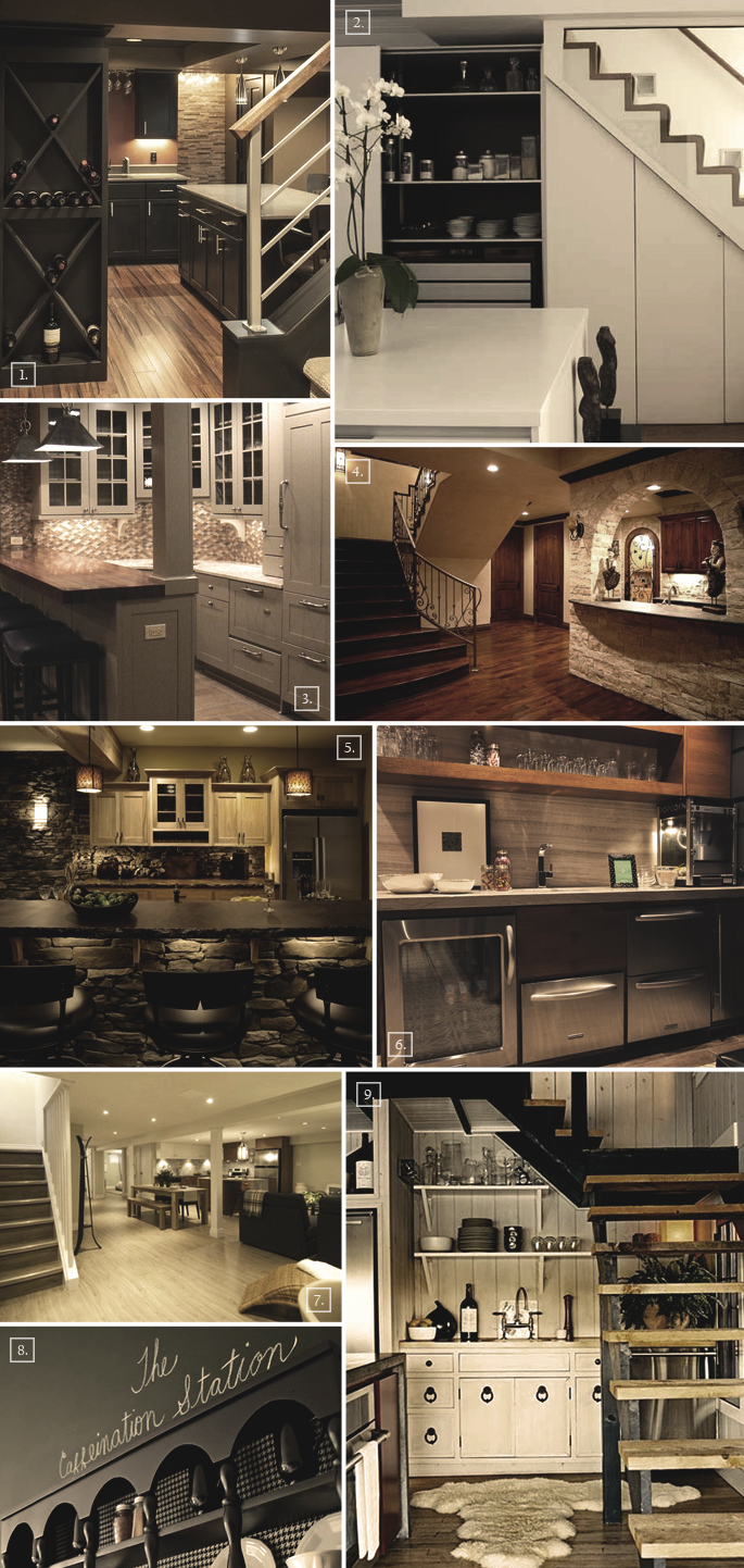 Looking at basement kitchen ideas and designs home tree - Basement kitchen and bar ideas ...