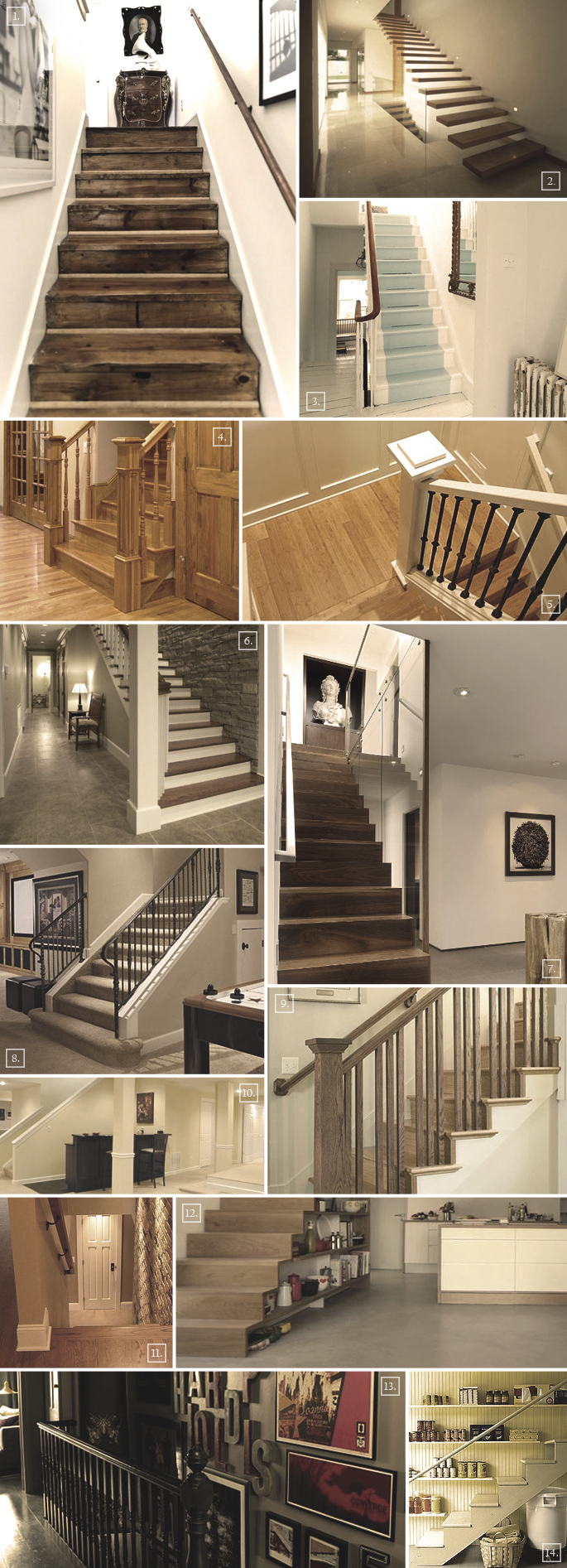 ideas for a basement staircase designs railings storage and more