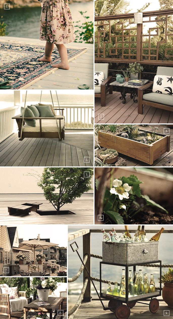 Deck decorating ideas mood board home tree atlas - Decorating a small deck ideas ...