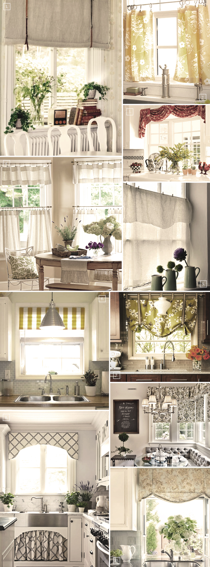 decorating the windows with these kitchen curtain ideas home tree