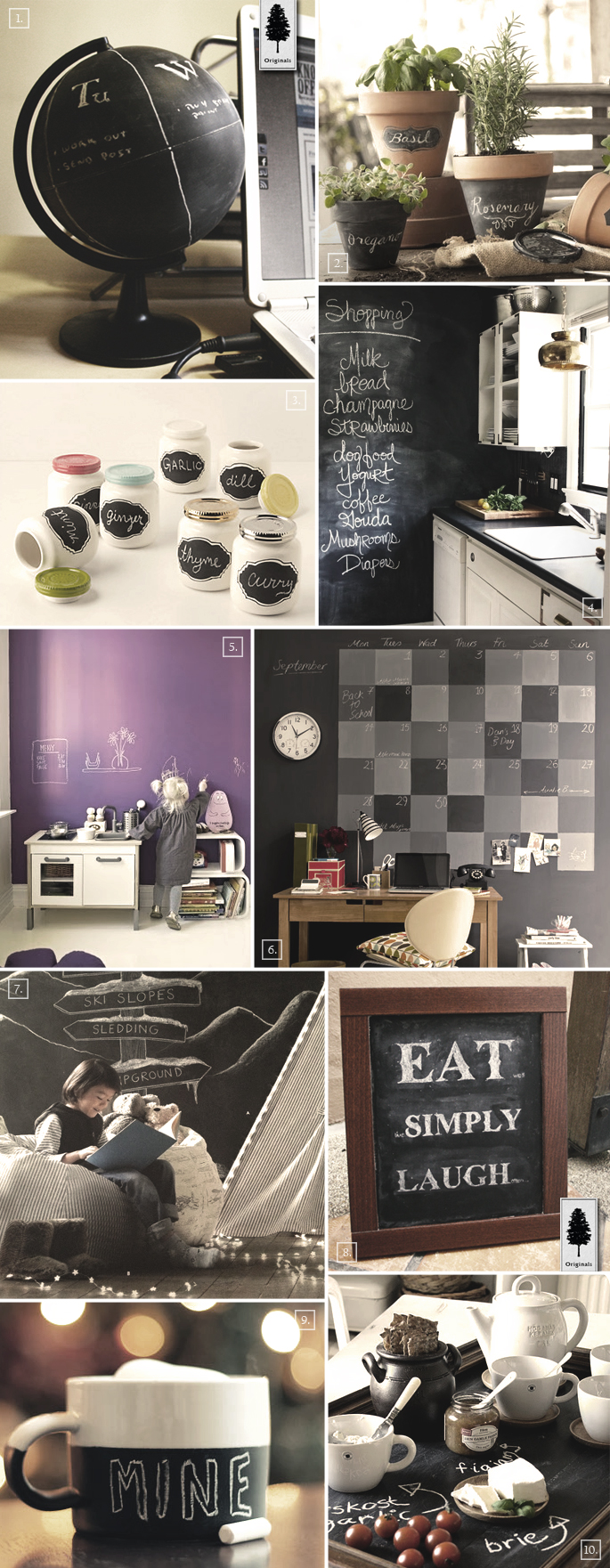 diy chalkboard paint decor ideas for the home home tree atlas