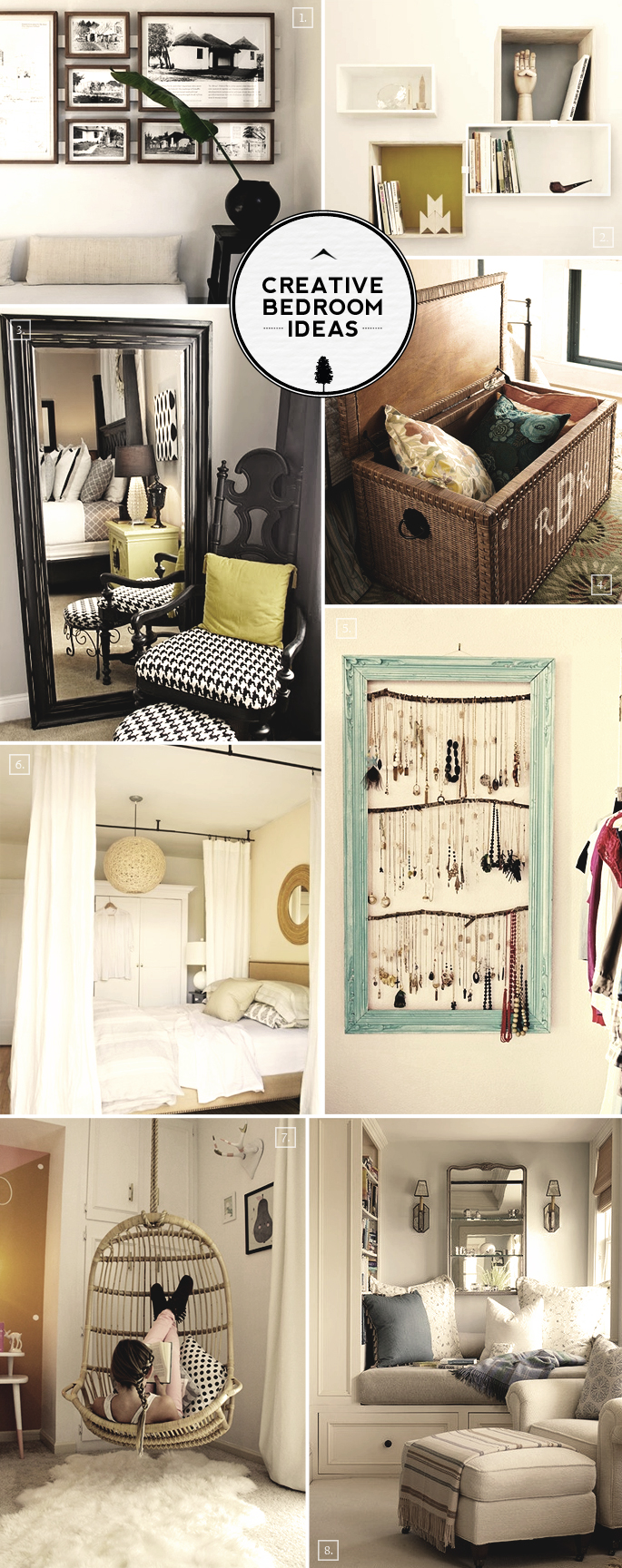 creative bedroom ideas from reading nooks to hanging chairs home