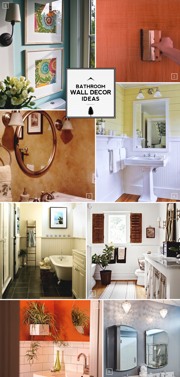 Home tree atlas home decor ideas and mood boards part 26 for Decoration for bathroom walls