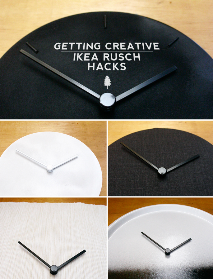 DIY IKEA RUSCH Wall Clock Hacks