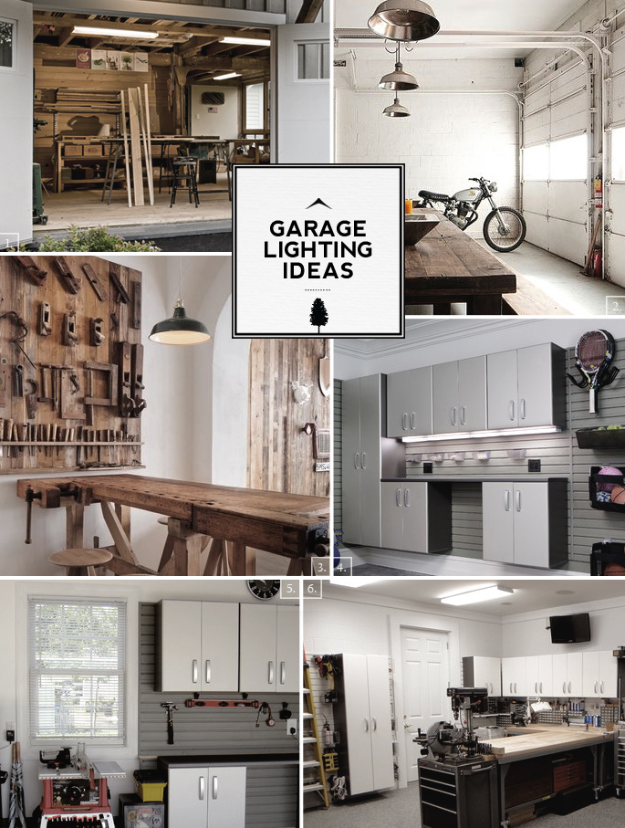 Home Garage Lighting Ideas From Fixtures To Space Design
