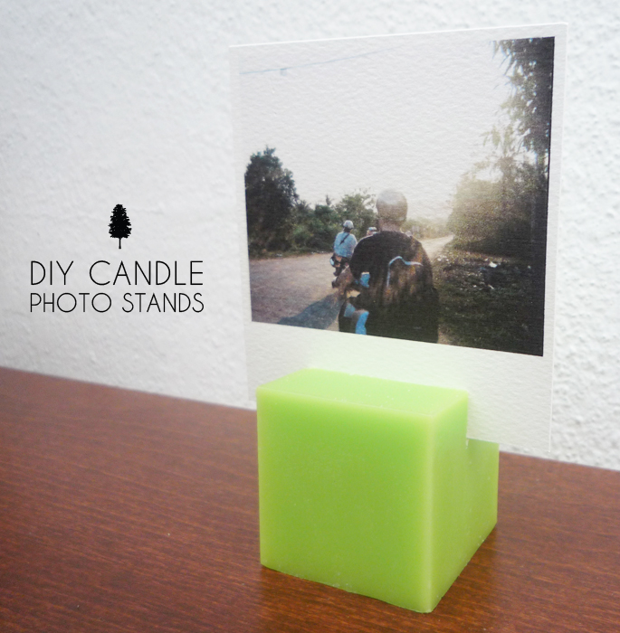 DIY Photo Stands