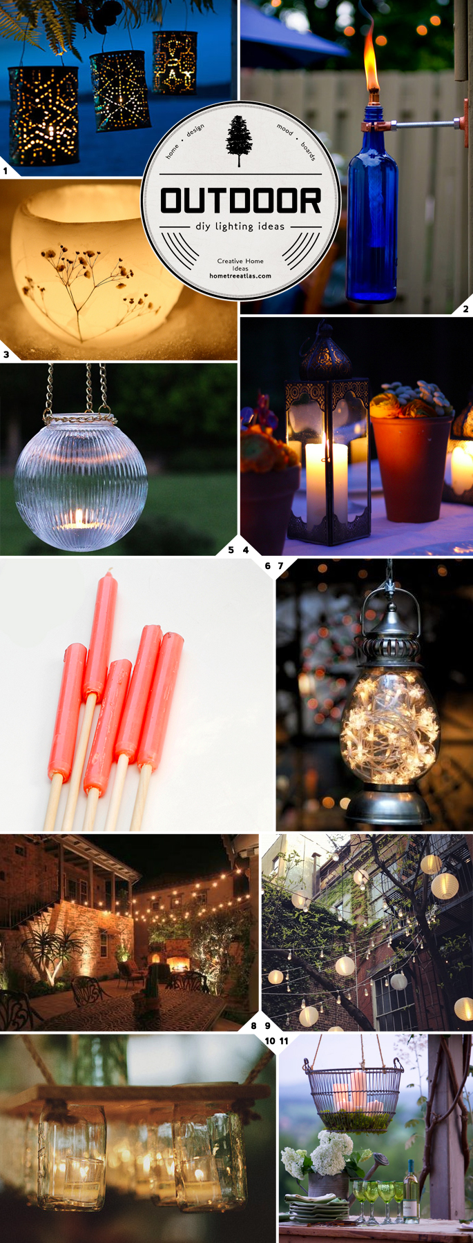 getting crafty diy outdoor lighting ideas home tree atlas