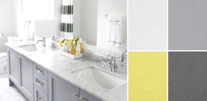 bathroom color scheme ideas bathroom color ideas palette and paint schemes home - Bathroom Ideas Color Schemes