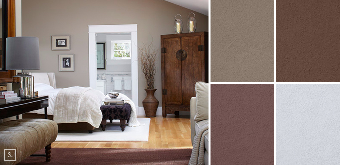 alfa img showing taupe color walls