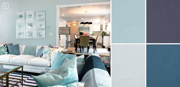 Ideas for living room colors paint palettes and color schemes home tree atlas - Blue living room color schemes ...