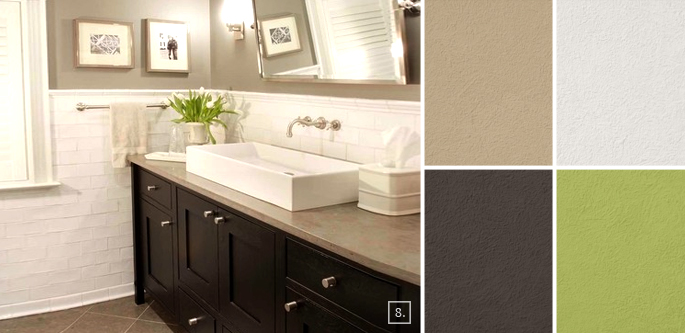 Most Popular Paint Colors For The Bathroom Selection