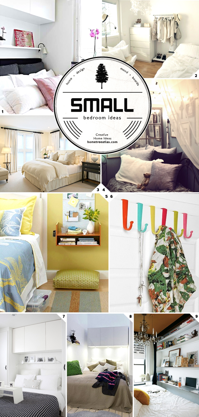Design tips small bedroom ideas on the hunt for Small room 5 1 or 7 1