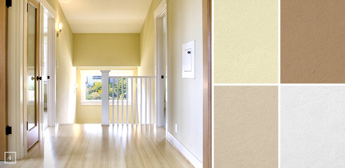Inbetween rooms hallway paint colors home tree atlas Hallway colour scheme ideas