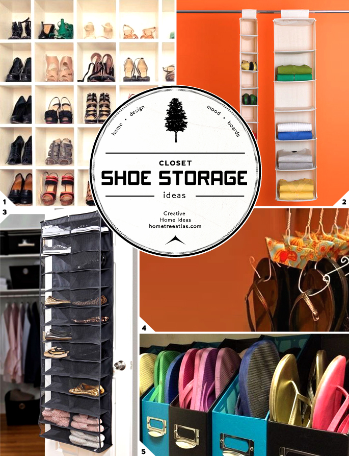 Unique closet and entryway shoe storage ideas home tree atlas - Shoe storage ideas small space image ...