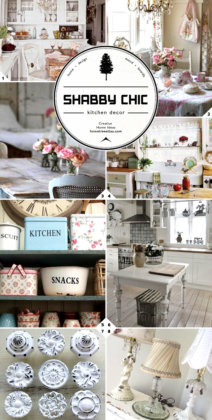 ... shabby chic style adds romance and whimsy to a home. Here are shabby