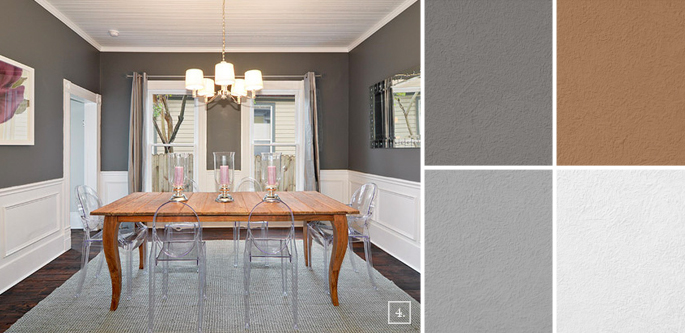 dining room colors and paint scheme ideas home tree atlas