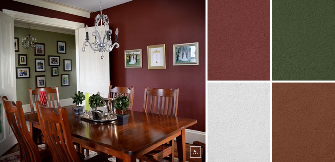Red Dining Room Color Ideas red dining room colors best 10+ red dining rooms ideas on