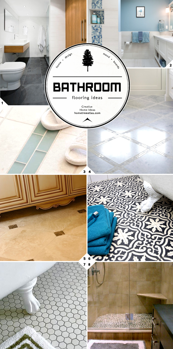 bathroom flooring ideas guide designs and material options home