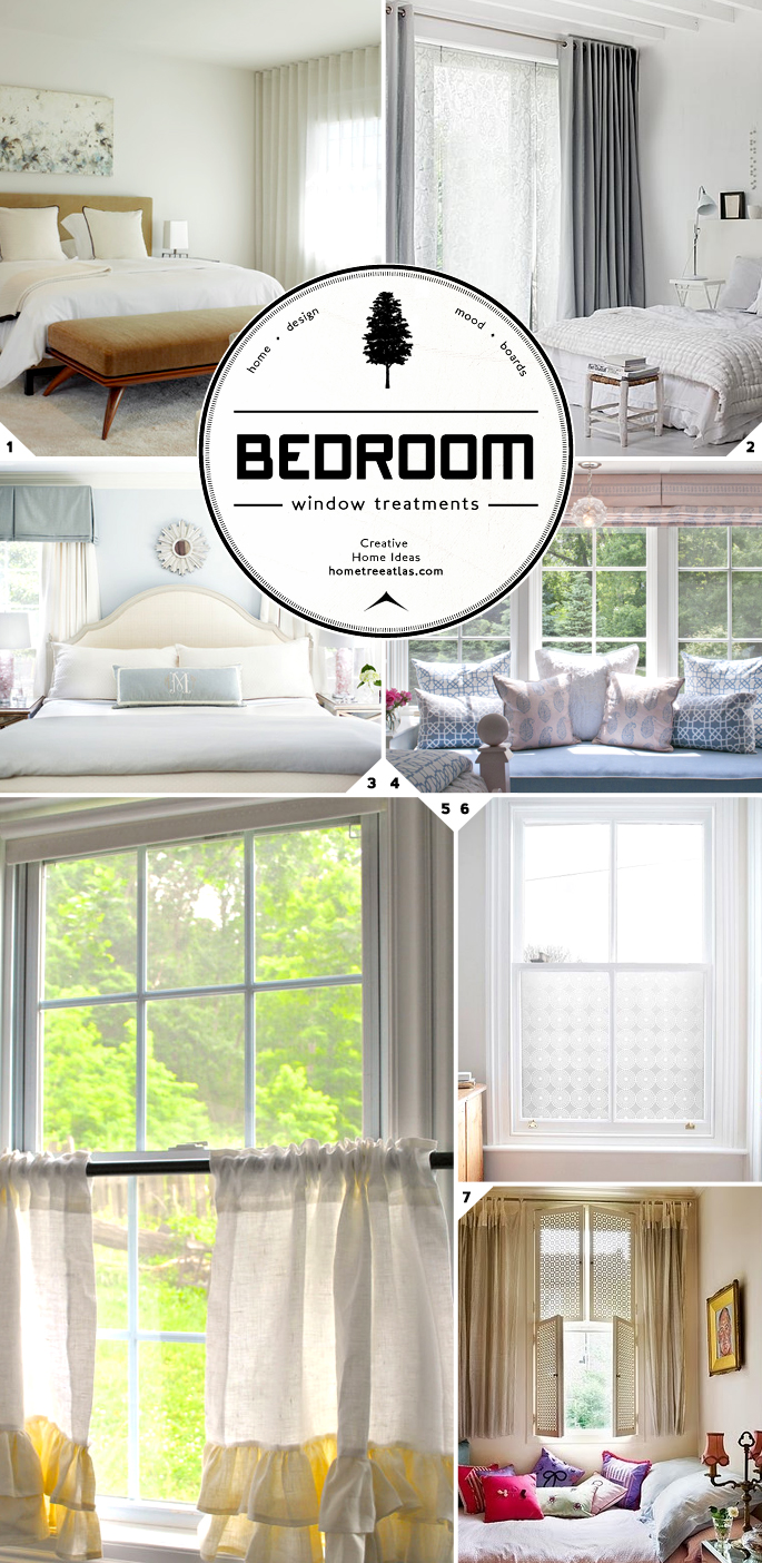 bedroom window treatments and curtain ideas home tree atlas