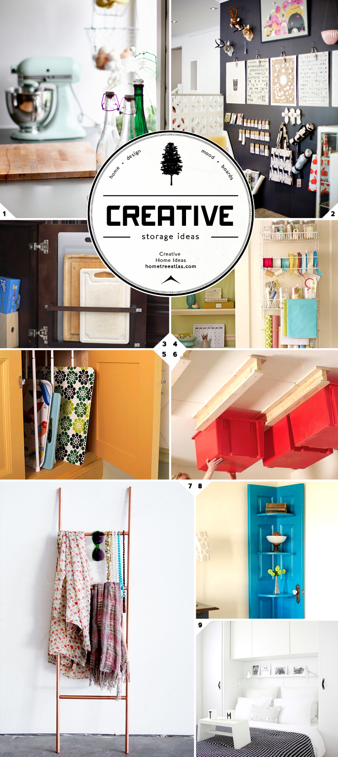 budget friendly clever and creative storage ideas from