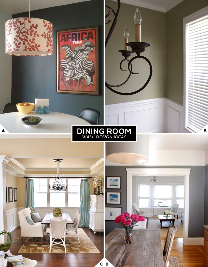 dining room wall designs