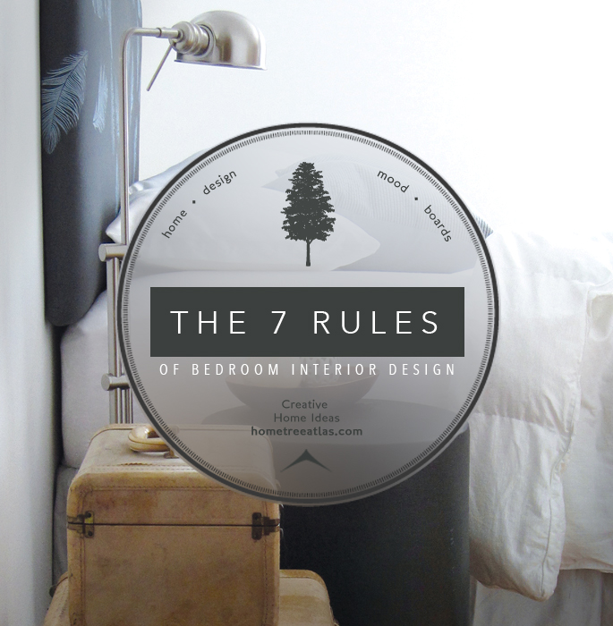 The 7 rules of bedroom interior design home tree atlas for Home design rules