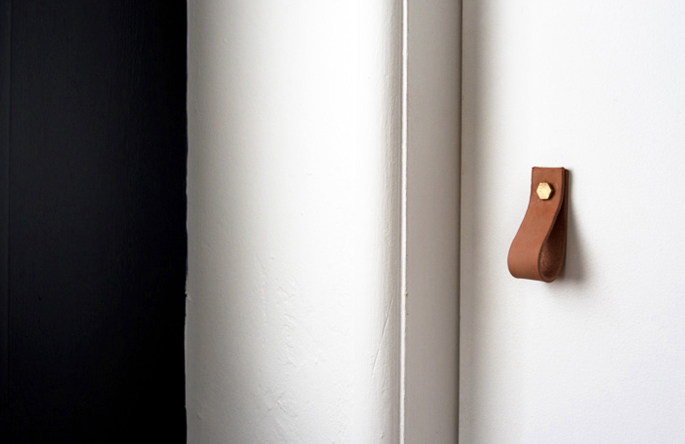 Leather Closet Handles