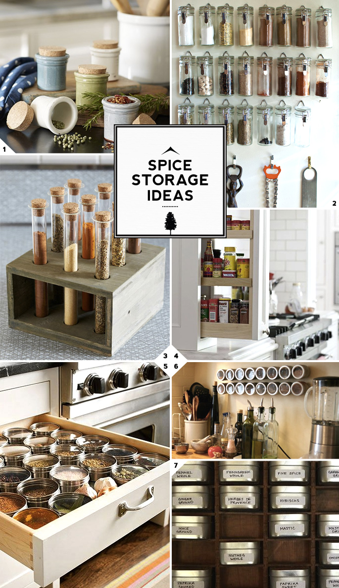 Kitchen Spice Storage Ideas Solutions