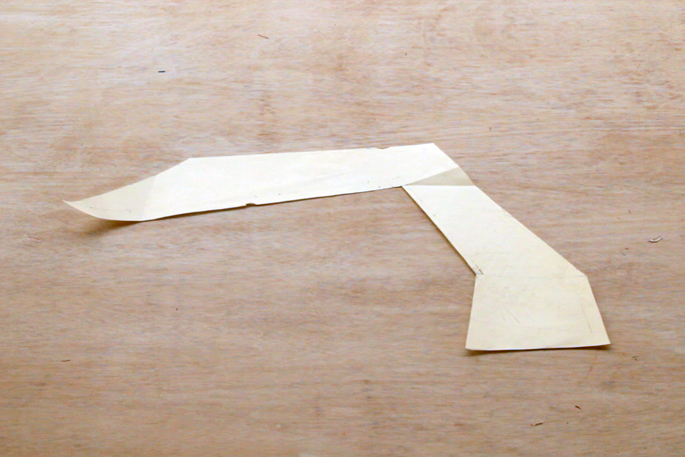 The Dark Knight DIY Desk Lamp - Make Any Shape Lamp With Plywood - Step #1 The template