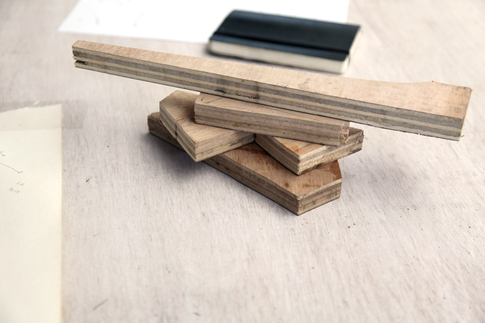 DIY Organization Bloks Made Out of Plywood: Bedroom and Desk Editions - STEP 2 The depth