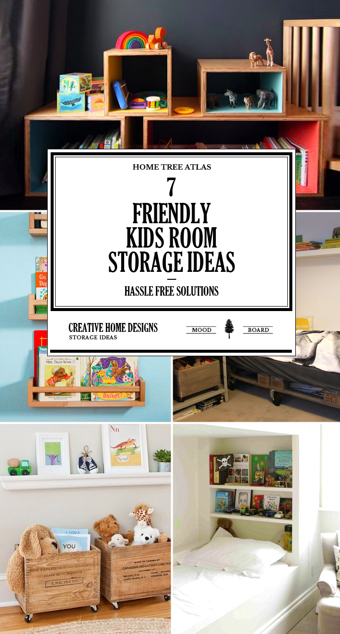 7 friendly kids room storage ideas home tree atlas for Kids room storage ideas