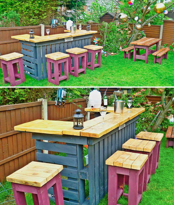 Is That A Pallet Swimming Pool 24 DIY Outdoor Furniture Creations And Big Builds Home