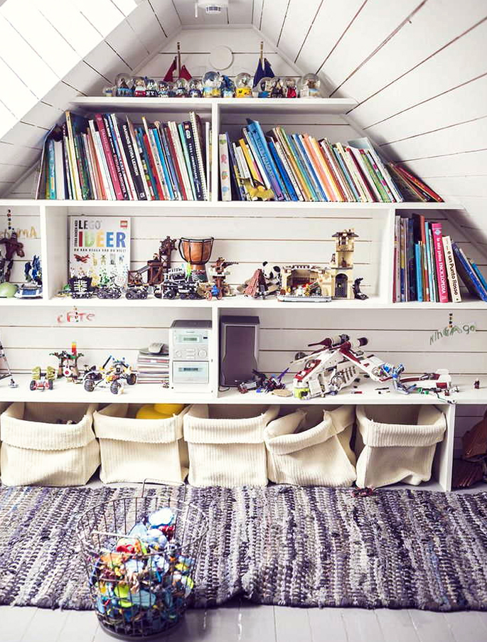 Attic Rooms - 11 Different Conversion Ideas: #10 A Room For the Kids