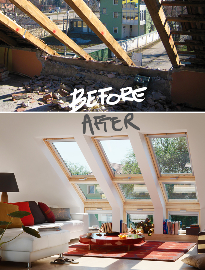Attic Rooms - 11 Different Conversion Ideas: #11 A Room With a View