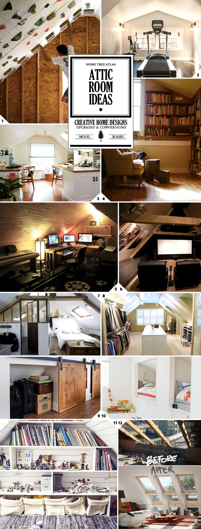 Attic Rooms – 11 Different Conversion Ideas
