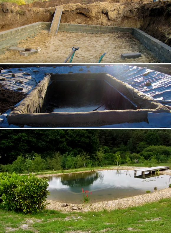 7 diy swimming pool ideas and designs from big builds to - Swimming pools made to look like ponds ...