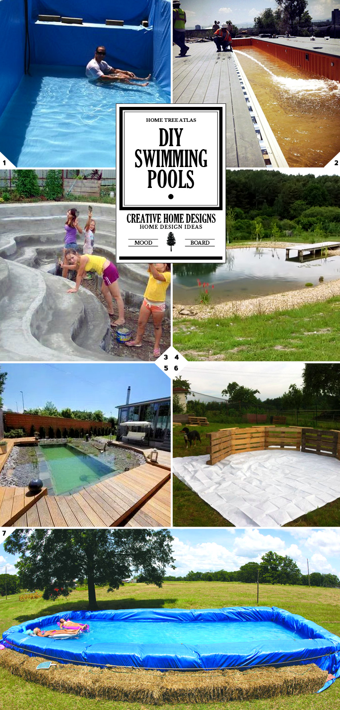 how to build a pool diy