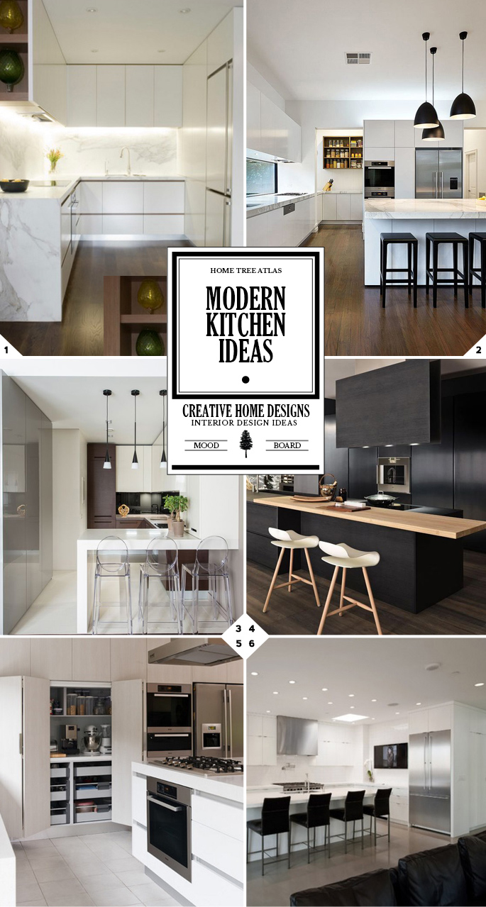 The Right Style: Modern Kitchen Design and Ideas