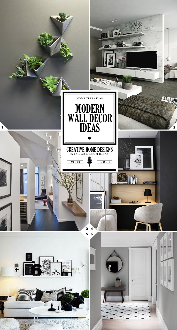 Simple Yet Stylish Modern Wall Decor Ideas