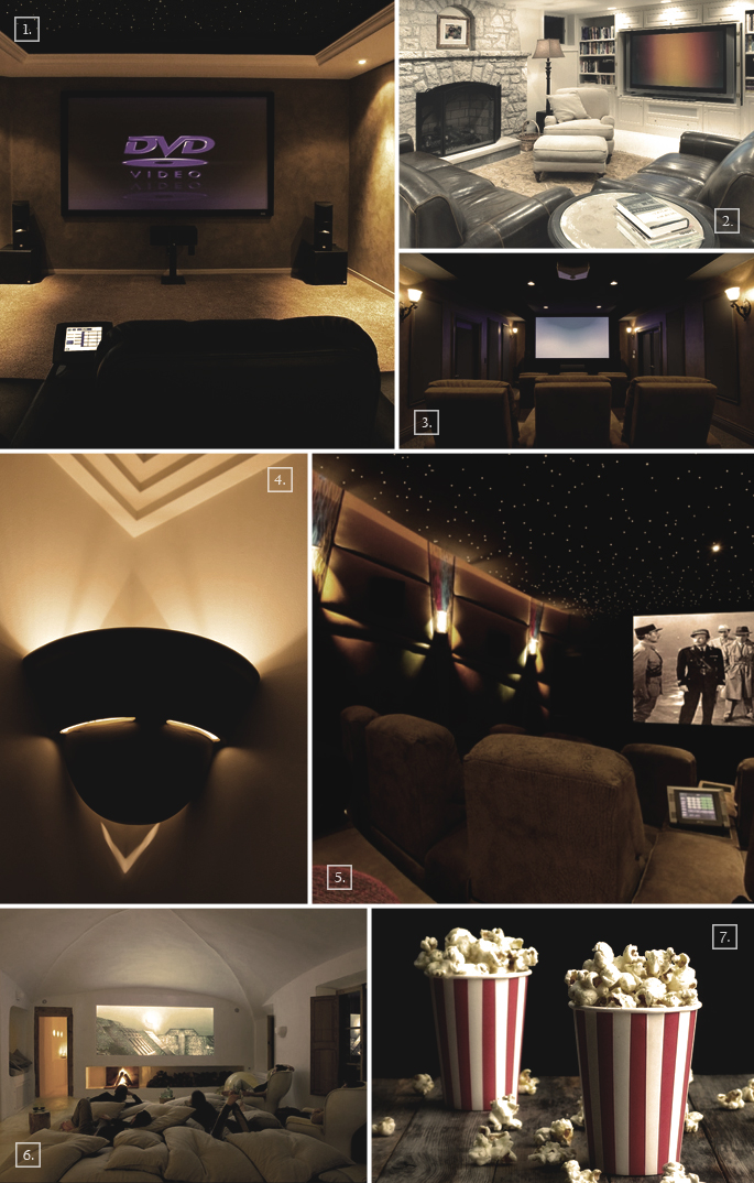 designs and ideas for a basement home theater home tree atlas. Black Bedroom Furniture Sets. Home Design Ideas