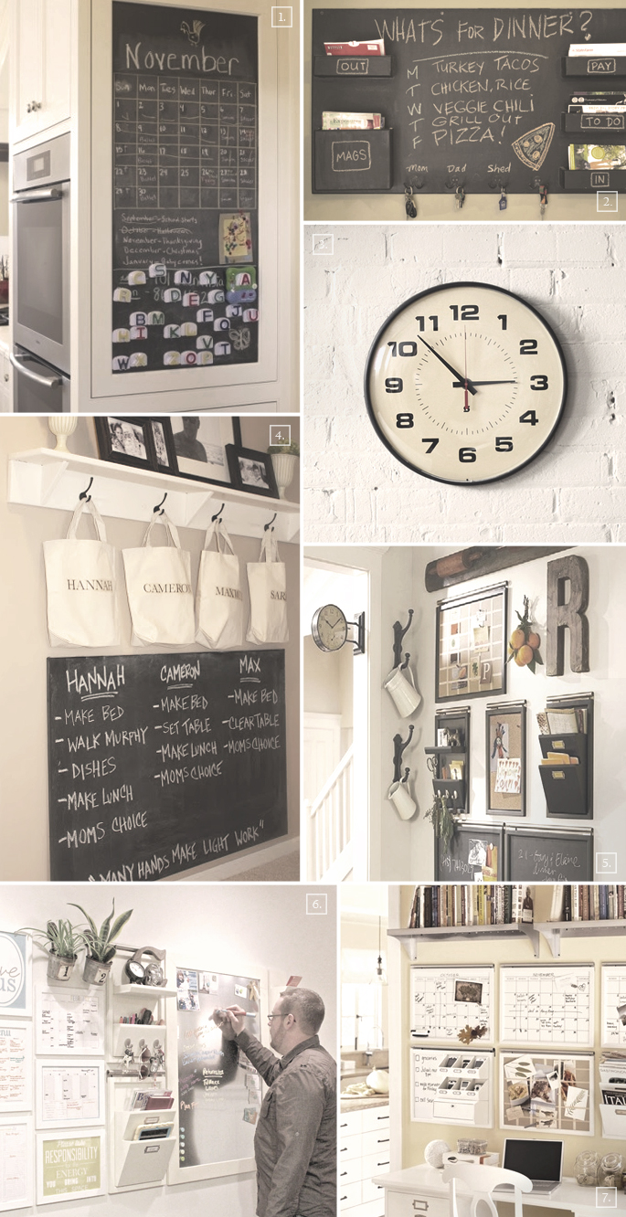 Ideas For Setting Up A Family Command Center In The