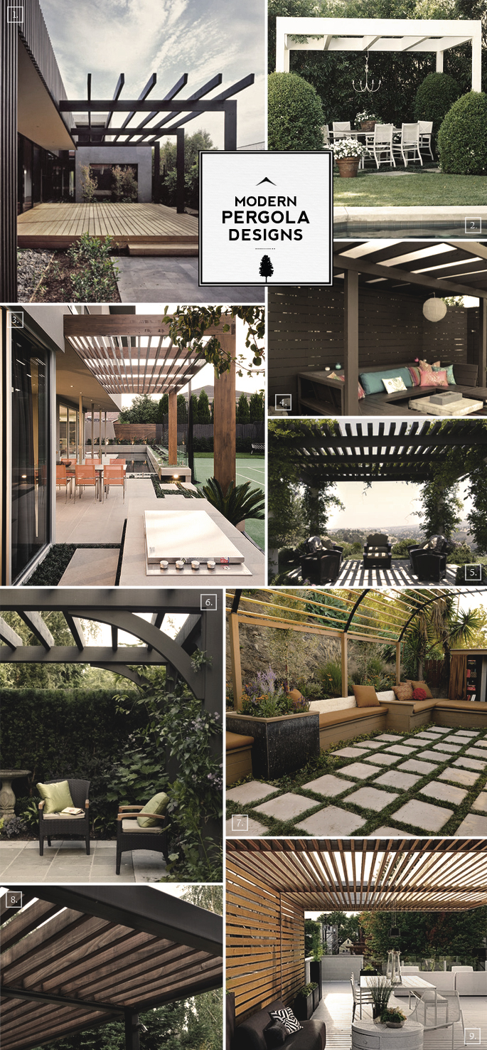 modern pergola designs gallery and notes home tree atlas. Black Bedroom Furniture Sets. Home Design Ideas