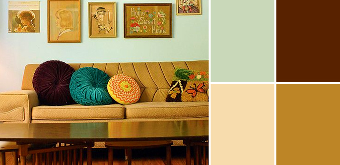 Vintage Paint Colors And Palette Home Style Guide Home