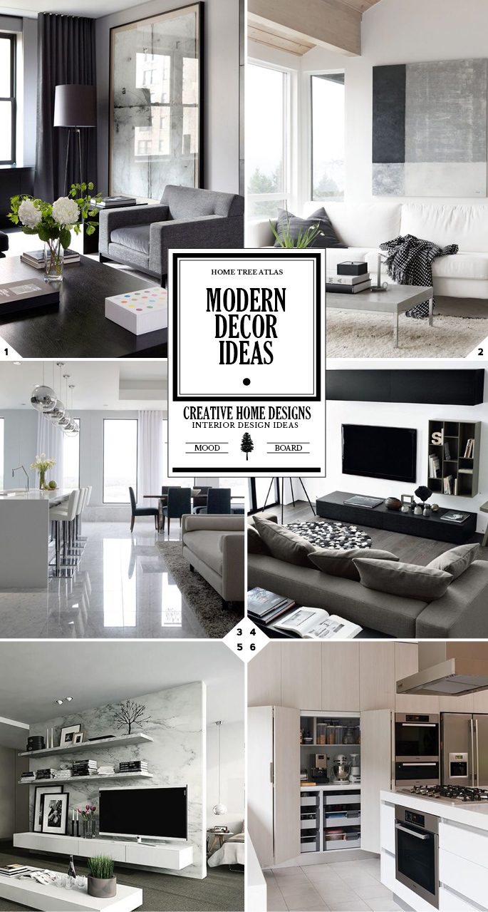 A Clutter Free Home: Modern Decor Ideas